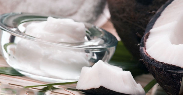 Closeup of Coconut Oil